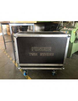 JBL MRX512M twin flightcase