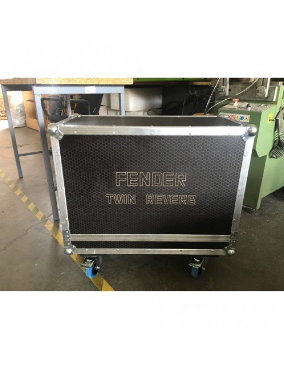 Behringer B312D twin flightcase
